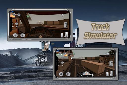 Real Truck Simulator : Multiplayer / 3D  screenshots 2