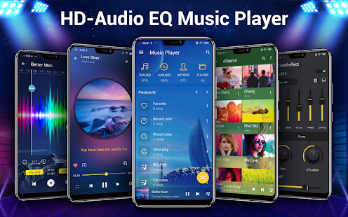 Music Player - аудио плеер Screenshot