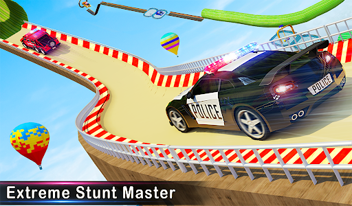 Police Car Racing Stunts 3D : Mega Ramp Car Games 3.8 screenshots 16
