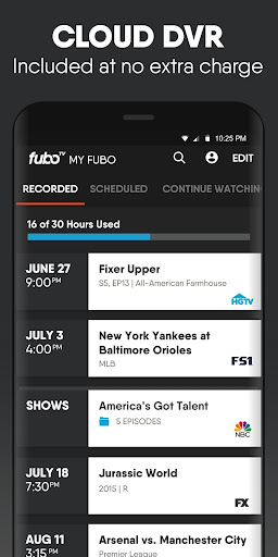 fuboTV: Watch Live Sports & TV 4.39.2 Screenshots 4
