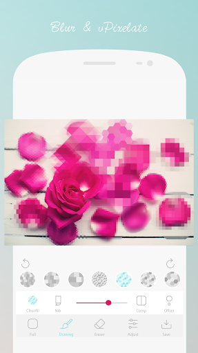 Blur and Pixelate android2mod screenshots 2