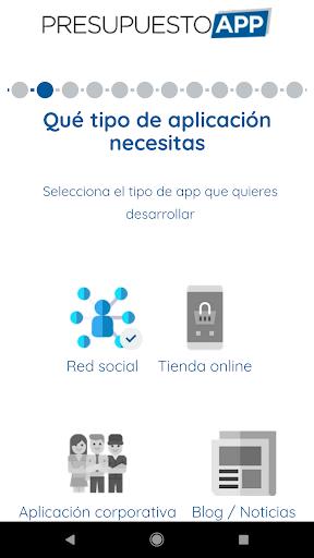 Presupuesto App  screenshots 3
