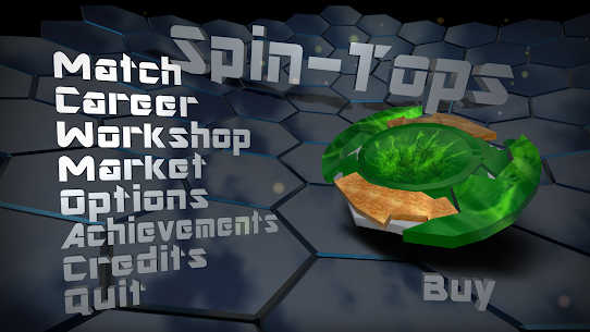 Spin-Tops MOD APK 0.9.11 (Unlimited Money) 2