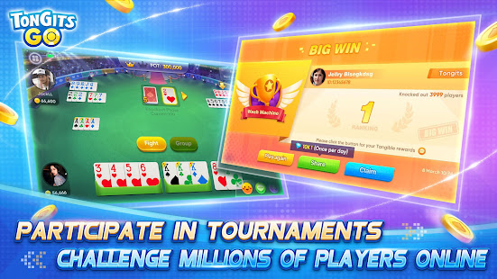 Tongits Go - Exciting and Competitive Card Game 4.0.2 Screenshots 4