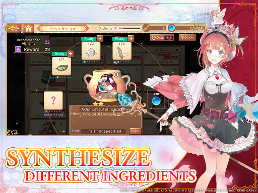 Atelier Online: Alchemist of Bressisle  screenshots 12