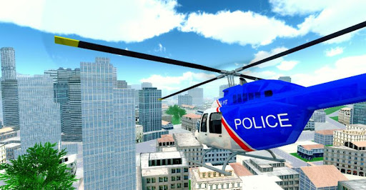 Police Helicopter City Flying 1.2 screenshots 17