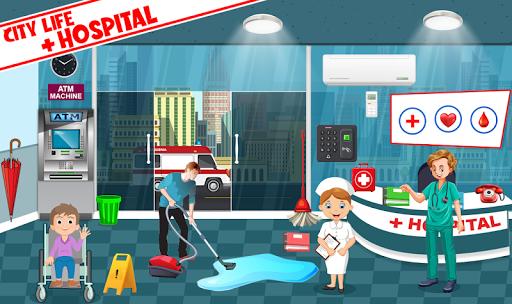 My Pretend Play Hospital Games: Doctor Town Life  screenshots 2