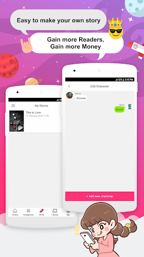 Joylada - Read All Kind of Chat Stories apktram screenshots 5