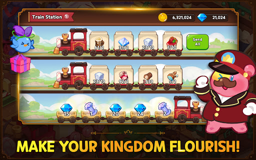 Cookie Run: Kingdom - Kingdom Builder & Battle RPG screenshots apk mod 4