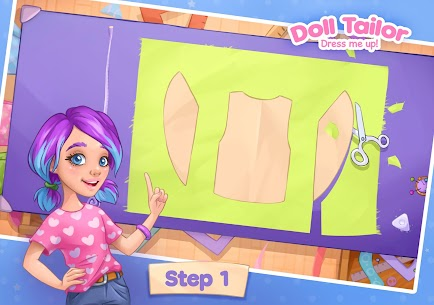 Fashion Dress up games for girls. Sewing clothes 8