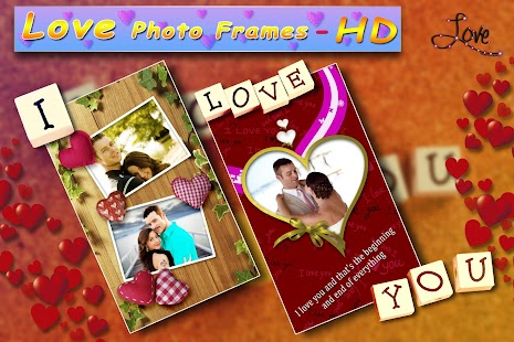 Love Photo Frames HD Screenshot