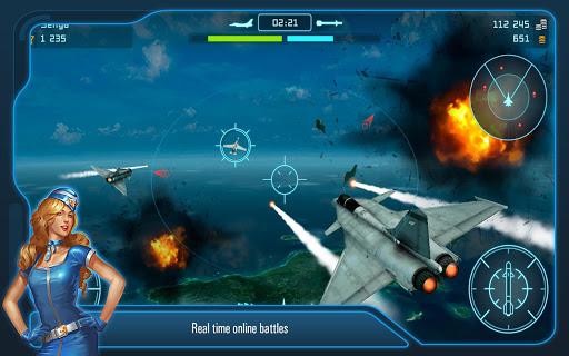 Battle of Warplanes: Aircraft combat, online game  screenshots 12