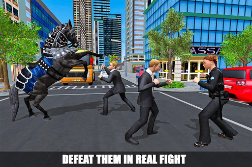 Mounted Police Horse Chase 3D 1.0 screenshots 2