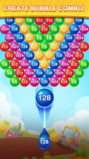 Bubble Shooter 2048 Ball: Shoot & Merge Puzzle apktreat screenshots 2
