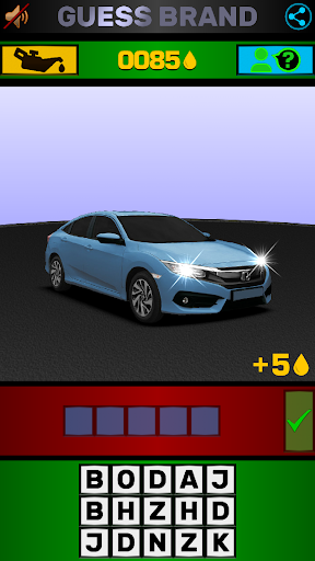 Cars Quiz 3D 2.3.0 screenshots 6