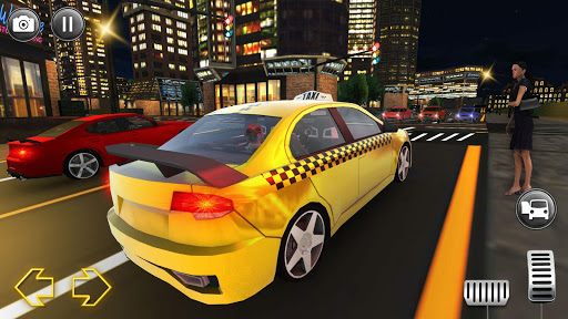 Modern City Taxi Simulator: Car Driving Games 2020 apkpoly screenshots 5