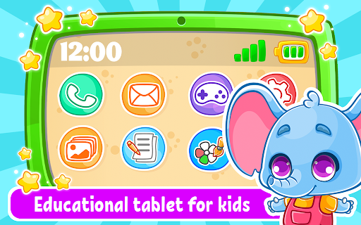 Babyphone & tablet - baby learning games, drawing 2.3.6 screenshots 1