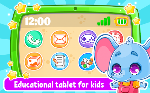 Babyphone & tablet - baby learning games, drawing 2.4.3 screenshots 1