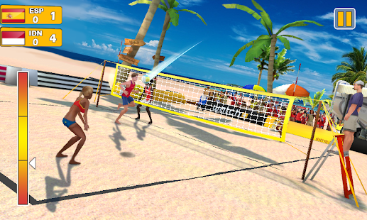 Beach Volleyball 3D Screenshot