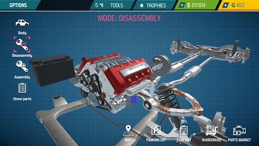 Car Mechanic Simulator 21: repair & tune cars  screenshots 2