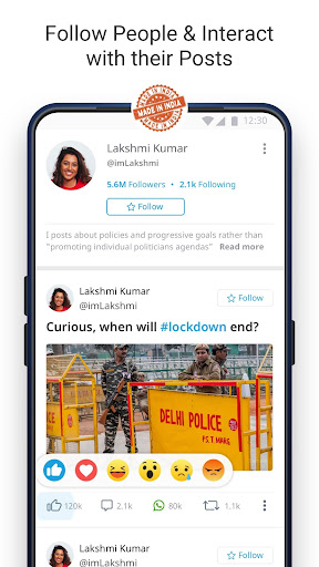 Dailyhunt - 100% Indian App for News & Videos 17.0.6 Screenshots 2