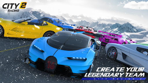City Racing 2: 3D Fun Epic Car Action Racing Game apkdebit screenshots 1