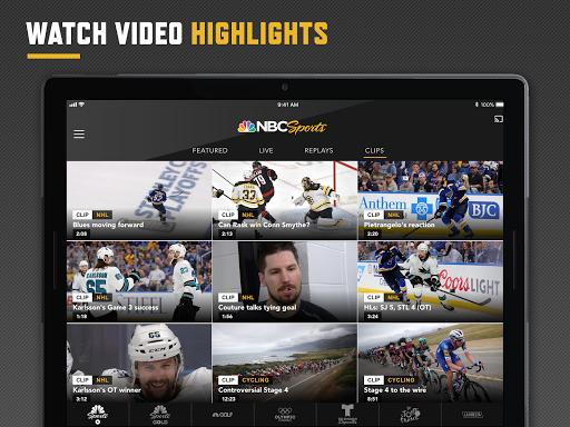 NBC Sports 8.1.7 Screenshots 8