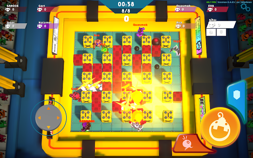 Bomb Bots Arena - Multiplayer Bomber Brawl  screenshots 17