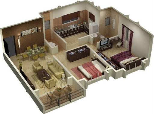 3D Home Plan Design For PC Windows (7, 8, 10, 10X) & Mac Computer Image Number- 9