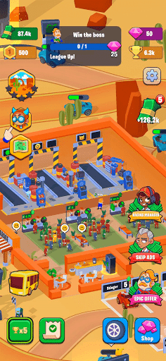 Garage Empire - Idle Garage Tycoon Game  screenshots 23