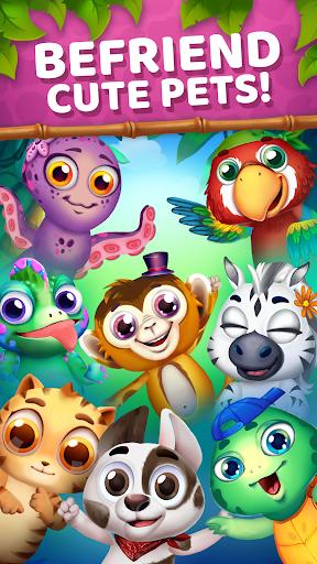 Animatch Friends - cute match 3 Free puzzle game screenshots 1