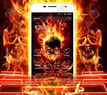 Cool Flame Skulls Theme For Windows 7/8/10 Pc And Mac   Download & Setup 1