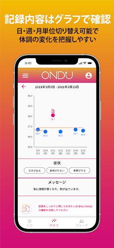 OND'U: グループ体温管理アプリのおすすめ画像5