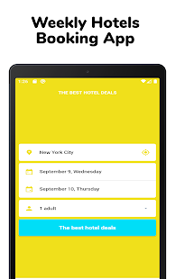Weekly Hotels Booking - Extended stay hotel