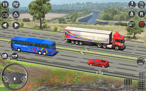 Euro Truck Driving Simulator 3D - Free Game  screenshots 8