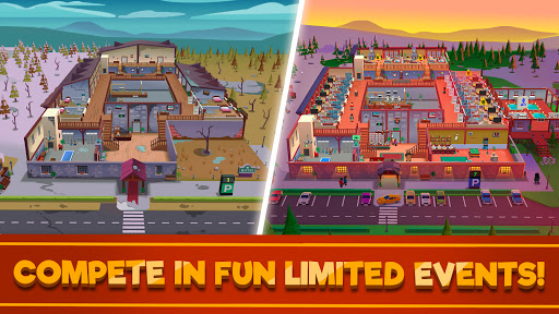 Hotel Empire Tycoon - Idle Game Manager Simulator 1.9.7 screenshots 3