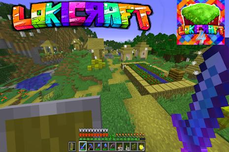 Lokicraft 4: Building craft Apkfinish screenshots 6
