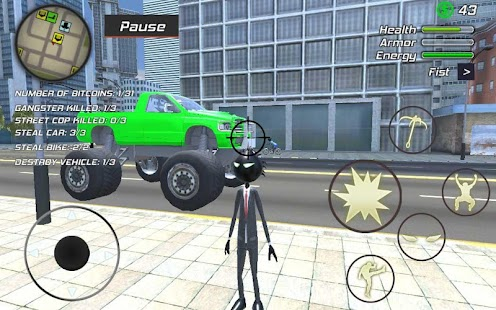 Amazing Crime Strange Stickman Rope Vice Vegas Screenshot