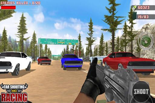 Car Racing Sniper Vs Thieves - Shooting Race games  screenshots 5