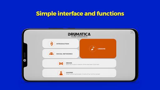 Drumatica Funk Grooves 8 Apk 1.0 screenshots 1