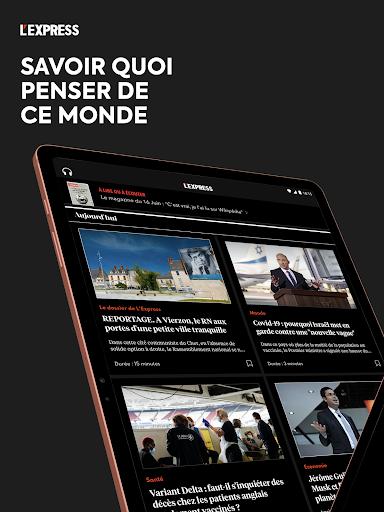 L'Express I Actualités, Infos, France, Monde  screenshots 8