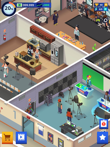 TV Empire Tycoon - Idle Management Game 0.9.52 screenshots 12