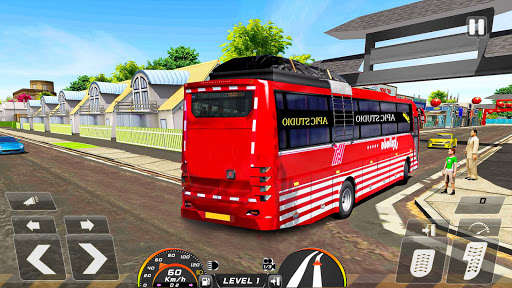 Real Bus Simulator Driving Games New Free 2021 2.1 screenshots 7
