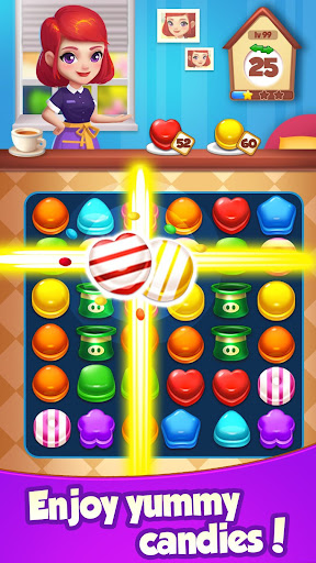 Candy House Fever - 2020 free match game 1.1.6 screenshots 3