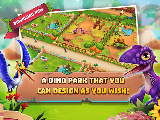 Dinosaur Park u2013 Primeval Zoo apkpoly screenshots 5