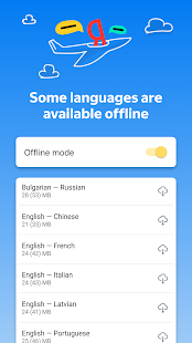 Yandex.Translate u2013 offline translator & dictionary screenshots 3