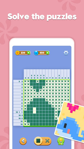 Nonogram - Jigsaw Puzzle Game screenshots 1