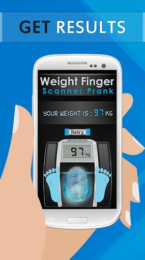 Weight Finger Scanner Prank 16.8.0 Screenshots 4