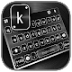 Black Metal Keyboard Background APK