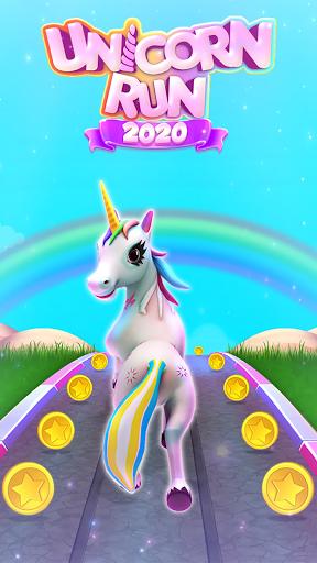 Unicorn Pony Runner 3D:Pony Running Game 2021 1.0 screenshots 1
